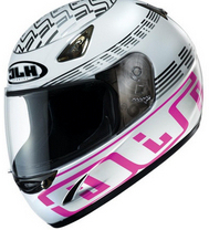 Free shipping authentic Korean HJC CS-14 helmet motorcycle helmet full helmet racing helmet / NATON pink