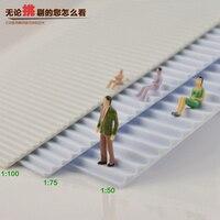 3 шт/партия 1/50-150 Масштаб модели лестницы и модели шагов для Модель поезда людей макет декорации AP