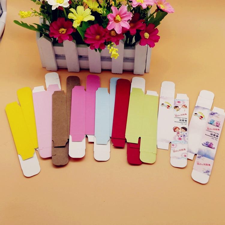 2*2*8.5cm individual cosmetics paper box for lipstick tube packaging lipstick tube paper packaging box