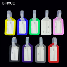 BINXUE  luggage tags check card Boarding pass bag Identification cards