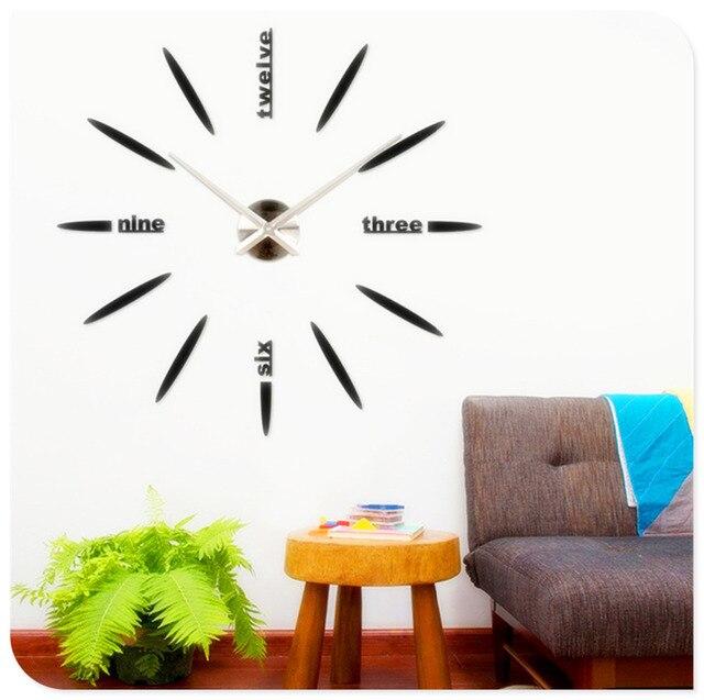 Vendite calde Prezzo di Fabbrica! quarzo DIY Moderni Orologi Ago ...