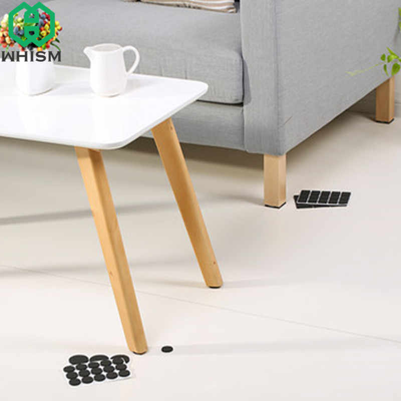 Whism Self Adhesive Furniture Leg Anti Slip Rug Chair Feet Eva Table Pad Skid Sofa