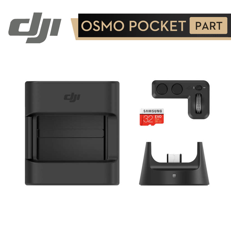 For DJI Osmo Pocket Mount Accessories Expansion Wireless Module Controller Wheel