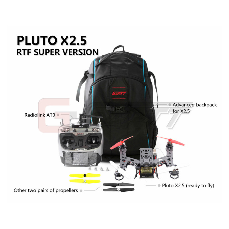GARTT Interstellar PLUTO-X250 Mini Quadcopter-250 RTF Ready To Fly Super Version RC Drone
