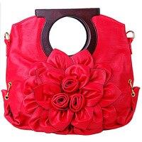 9147 Europe and Japan and South Korea handbag brand all match candy colored flowers Handbag Women Shoulder Bag Messenger Bag