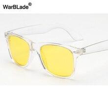 WarBLade Vintage Polarized Sunglasses Men Women Yellow Lens