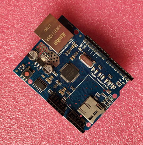 Freee shipping Ethernet W5100 Shield For UNO Mega 2560 1280 328 UNR R3 < only W5100 Development board  - buy with discount