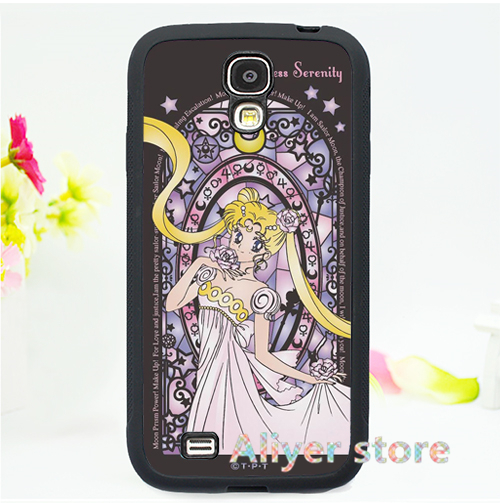 Sailor Moon cell phone case cover for Samsung galaxy S3 S4 S5 s6 s7 s6 edge s7 edge note 3 note 4 note 5 3 E1200