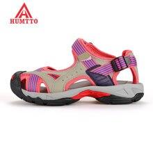 Женские Летние кожаные треккинговые сандалии высшего качества;