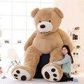 1 шт., милый огромный размер 130 см, гигантский Медвежонок США, плюшевый мишка с корпусом, высокое качество, оптовая цена, продажа, подарок на де...