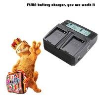 Lvsunユニバーサルdc &車のカメラバッテリー充電器用bln-1 bln1 bln電池用olympusバッテリーe-m5 om-d em5 omd e-p5 ep5 em1
