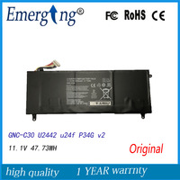 11.1V 47.73WH New Laptop Battery For GIGABYTE GNC C30 U2442 U24F P34G V2