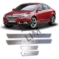 Suitable For OPEL VAUXHALL Insignia Stainless Steel Mirror Surface Scuff Plate Door Sill Cover Trim Car