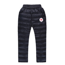 2017 New fashion unisex baby winter pants baby girls warm Legging baby boys thick Down pants 4-10y