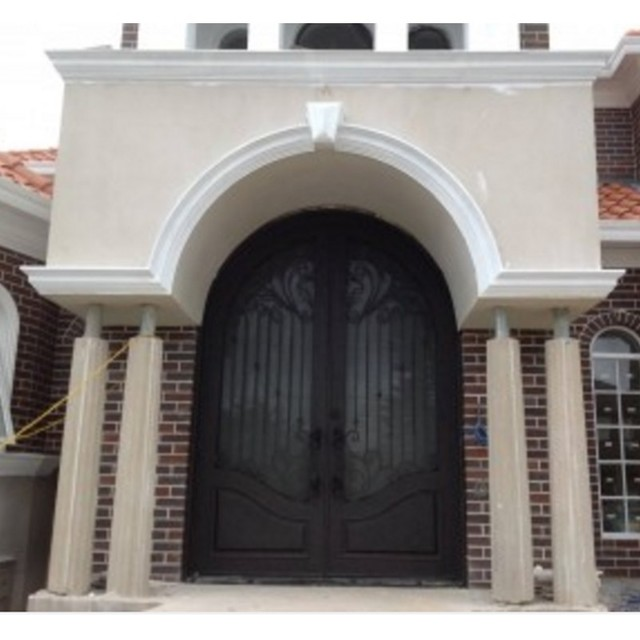 Arched Double Entry Doors Commercial Double Steel Doors Exterior