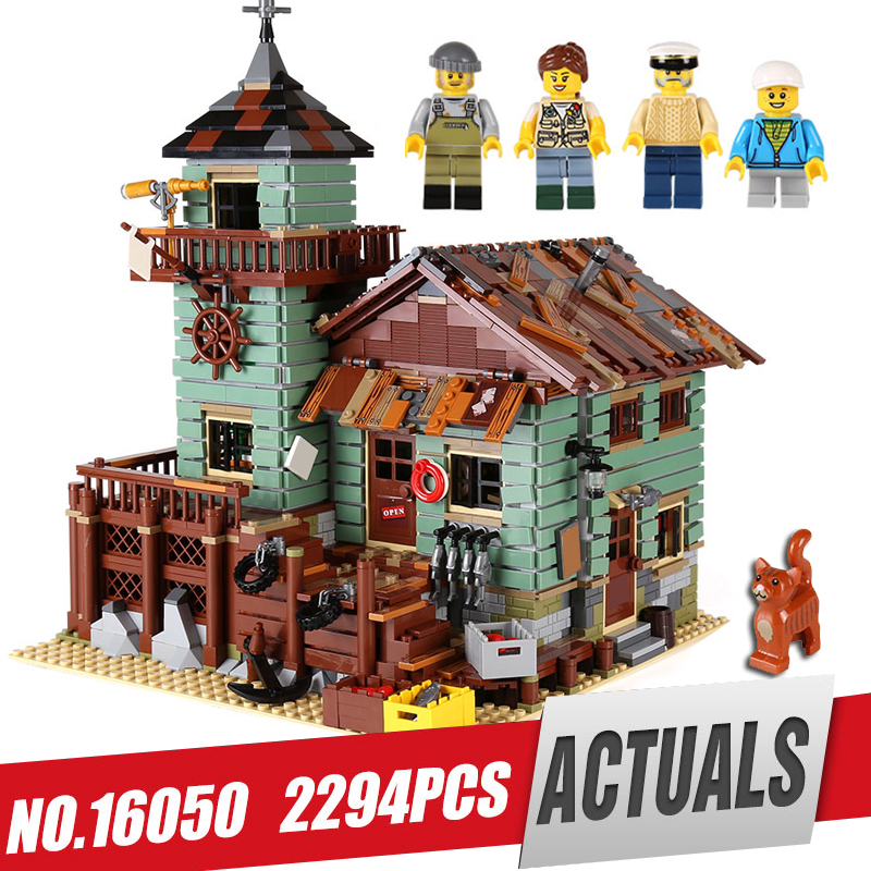 Lepin 16050 Genuine 2109Pcs MOC Series The Old Finishing Store Set 21310 Building Blocks Bricks Educational legoing Toy As Gift formulamod pci 6pin motherboard power extension cable 18awg 6pin extension cable for water cooling computer fmpci6p c
