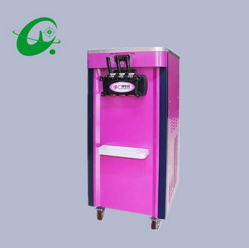 18-26L/H luxury Soft Serve Ice Cream Maker Machine Spaceman ice cream machine Rainbow ice cream machine