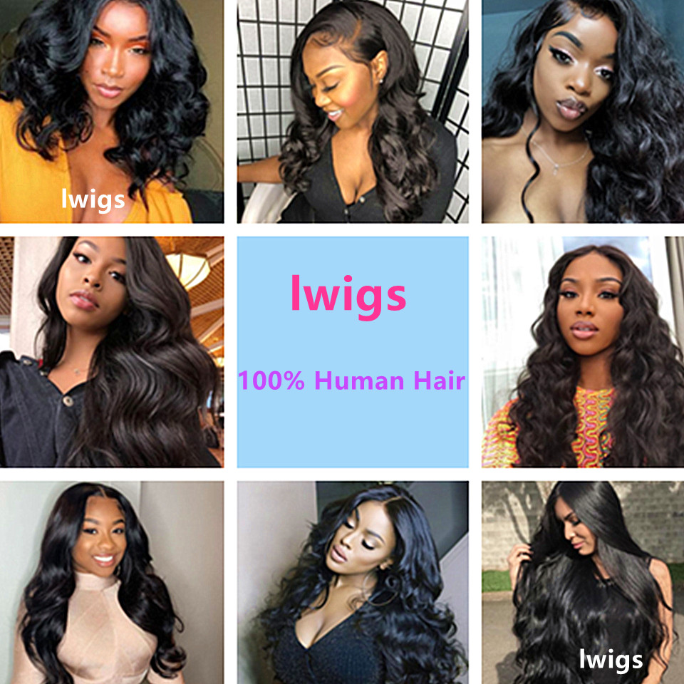 body wave human hair wigs