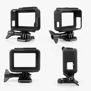 Image 4 - Vamson Housing Case Base Mount  Protective Frame Case for Go pro Accessories Action Camera Hero7 6 5Black 7 Silver/White VP631