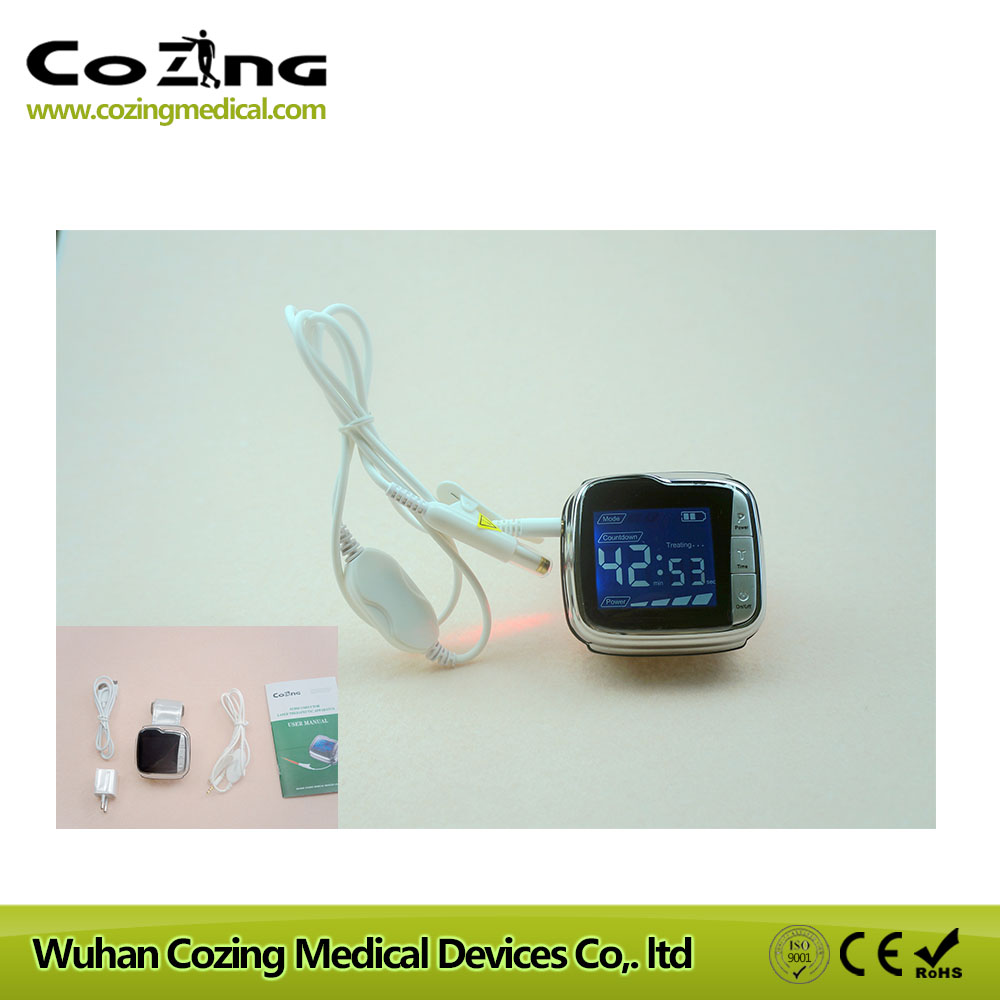 High blood pressure laser device hemodynamic metabolic pulse laser wrist type laser laser light device reduce blood pressure wrist watch wrist type laser