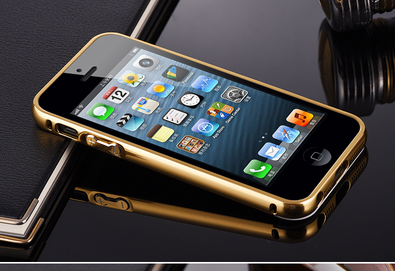 For Iphone 5 Case Mirror Cover Aluminum Luxury Case For Apple Iphone