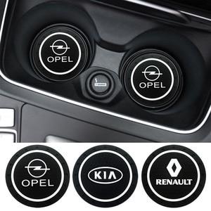 Image 1 - Housse de dessous de verre antidérapant en Pvc, pour Renault Opel Lada Vw Ford Toyota Chevrolet Kia Skoda Volvo Suzuki Hyundai bmw, 1 pièce