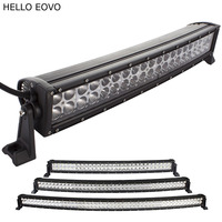 23 Inch 120W Curved LED Light Bar For Work Indicators Driving Offroad Boat Car Tractor Truck