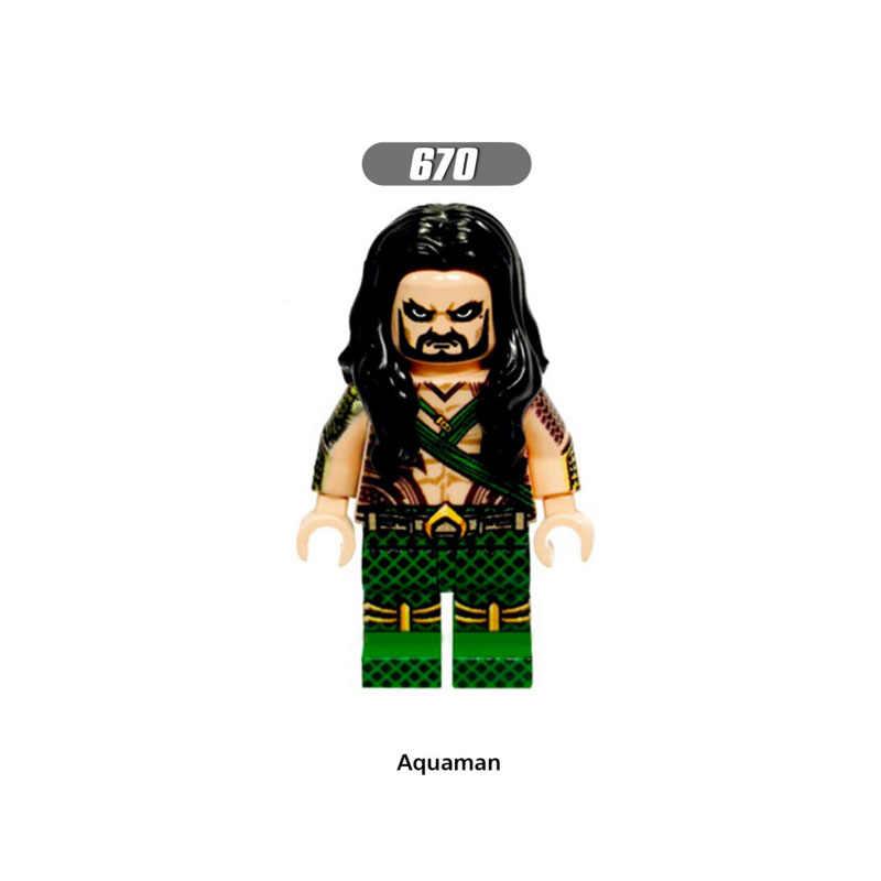 ขายเดียว Super Star Wars 670 Aquaman ชุด Mini Building Blocks รูปอิฐของเล่นเด็กของขวัญเข้ากันได้กับ Legoed Ninjaed