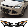 Car Headlight Kits For Ford Kuga Escape 2013 2014 2015 2016 Head Light Turn Signals Lamp DRL Bifocal Lens Auto Lamps Styling