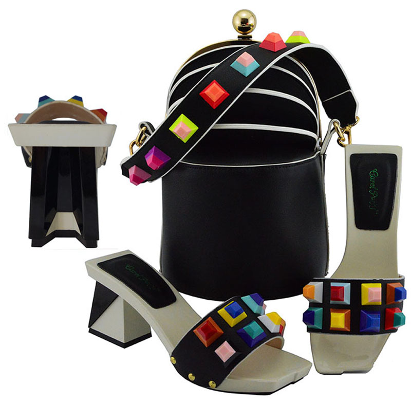 Black Nigerian Party Shoe and Bag Sets Italian Shoes and Bag Set Envio Gratis African Matching Shoes and Bag Italian In WomenBlack Nigerian Party Shoe and Bag Sets Italian Shoes and Bag Set Envio Gratis African Matching Shoes and Bag Italian In Women