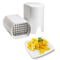 Clever Fries One Step Natural French Fry Potato Cutter Chips Slicers Gadget Cooking Tools Kitchen Accessories
