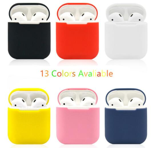 Silicone Shock Proof Protector Sleeve For Case Skin Cover for True Wireless Earphone box цена