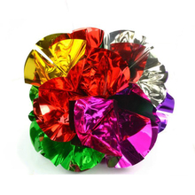 1 Pc New Middle Size Appearing Ball Flower Magic Spring Flower Bouquet Magic Tricks Props Close Up Street Magic Tricks