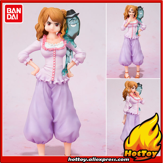100% Original BANDAI Tamashii Nations Figuarts ZERO Collection Figure - Charlotte Pudding from ONE PIECE one piece bandai figuarts zero trafalgar law dress rosa hen figure toys kids