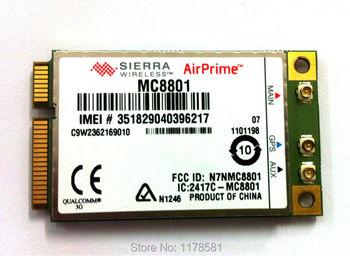 3G HSPA  WWAN  Mini PCIe Card Sierra MC8801  3g Mini Pci-E WCDMA Module up to 42Mbps HSPA+