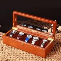 베이 도매 나무 시계 상자 원래 고급 나무 시계