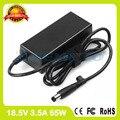 18.5 В 3.5A 65 Вт адаптер переменного тока ноутбука зарядное устройство HP-OK065B13 LF SE HSTNN-CA15 для HP ProBook 3105 М 430 G1 440 G0 440 G1 445 G0 445 G1