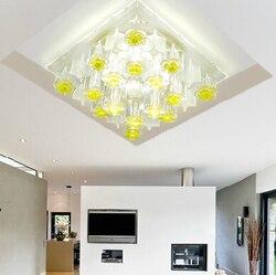 Colorpai Morden 5 W oświetlenie sufitowe LED spot oświetlenie pokój dzienny kryształ lampa balkon luminaria oprawy oświetleniowe AC220-240V abajur