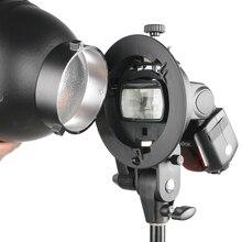 PRO Godox s-образный кронштейн Bowens S держатель для вспышки Speedlite Snoot софтбокс красота блюдо отражатель фото зонтик соты