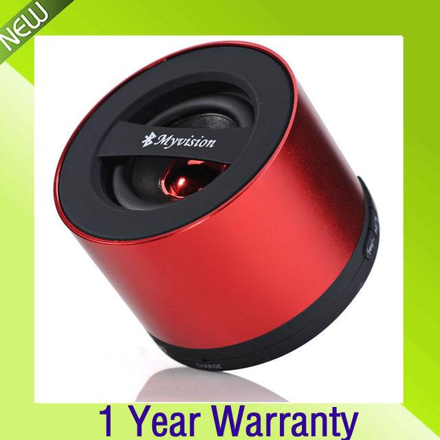 Wholesale - Freeshipping New Mini Bluetooth Speaker for iphone5 5G MP4 MP3 Tablet PC HIFI Speaker Loudspeaker support TF card