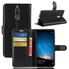 ASTUBIA For Huawei Mate 10 Lite Case Flip PU Leather Wallet ShockProof Phone Case For Huawei