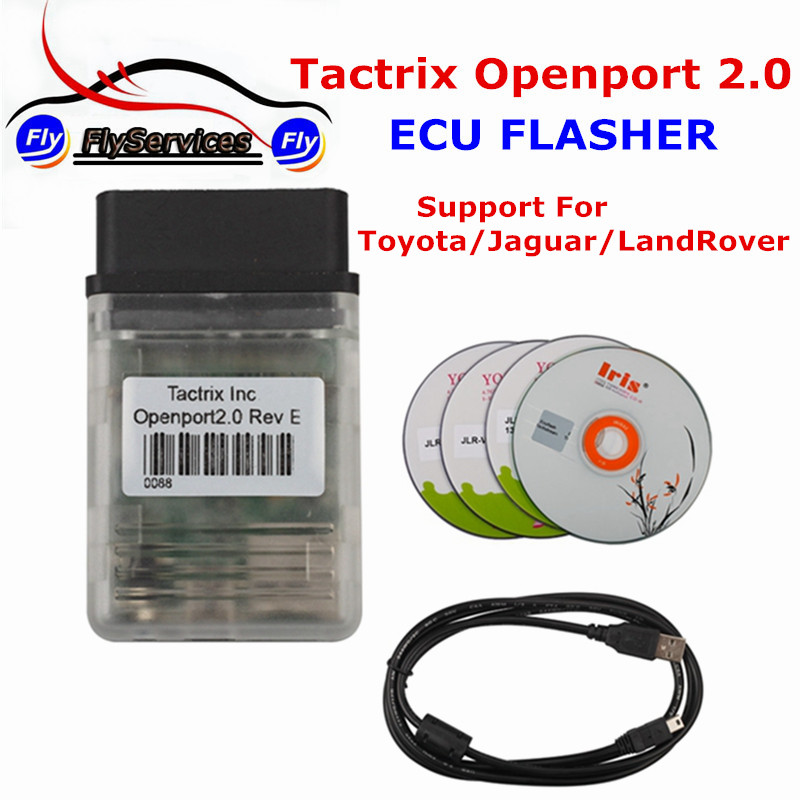 Latest  Design Tactrix Openport 2.0 With Tactrix ECU FLASH Excellent ECU Chip Tuning Tool For Multi-Brand Cars unlimited tokens ktag k tag v7 020 kess real eu v2 v5 017 sw v2 23 master ecu chip tuning tool kess 5 017 red pcb online