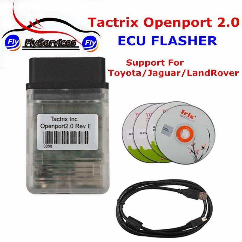 Цена за Новейшие Разработки Tactrix Openport 2.0 С Tactrix ЭКЮ FLASH Отлично ЭКЮ Чип-Тюнинг Инструмент Для Мультибрендовый Автомобили