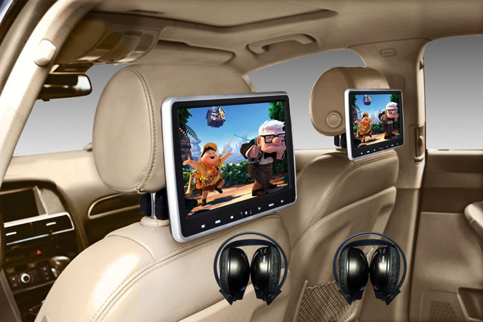 HDMI Input 10.1 inch HD Headrest Car DVD player with for ...