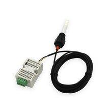 12 24 V אספקת חשמל 485 ים מים EC משדר TDS חיישן EC מודול 4 20ma Modbus 485 מוליכות EC /TDS חיישן