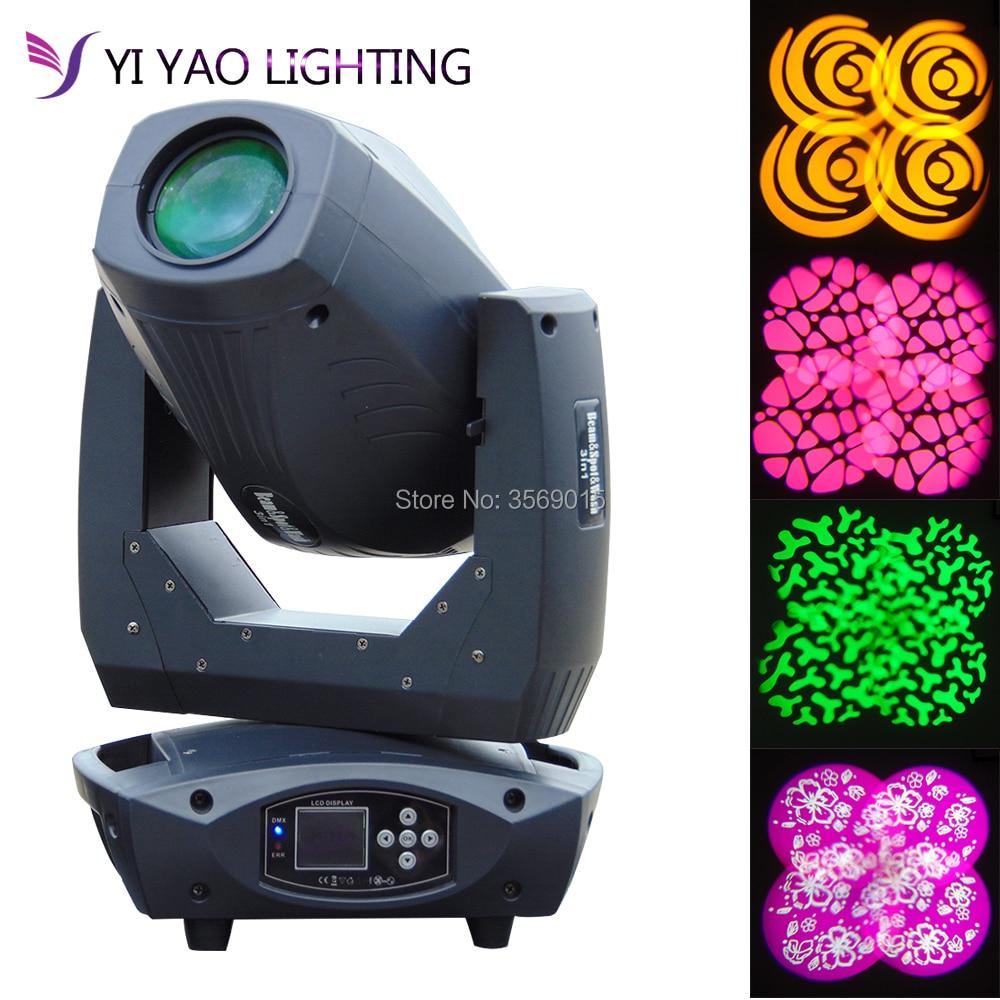 2018 200W LED Beam Spot Wash 3in1 Moving Head Light Plus ZOOM DMX DJ Stage все цены