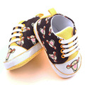 Cute Cartoon Animation Canvas Shoes Newborn Baby Boy Girls Prewalker Canvas Shoes 0-15 Months