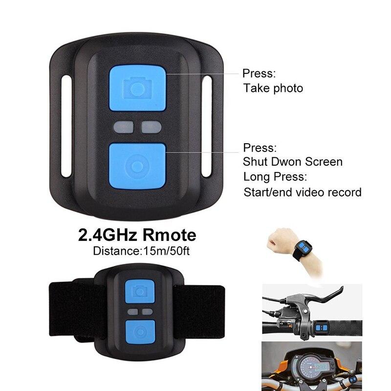 Caméra d'action à distance Tekcam F60R 4 k WIFI 1080 p HD 16MP GO PRO Style casque caméra 30 mètres étanche sport DV caméra - 4