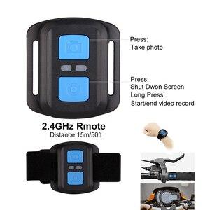 Image 3 - Tekcam F60R 4K WIFI Điều Khiển Hành Động Từ Xa Camera 1080P HD 16MP Đi PRO Style Cam 30 Mét Không Thấm Nước thể Thao Camera
