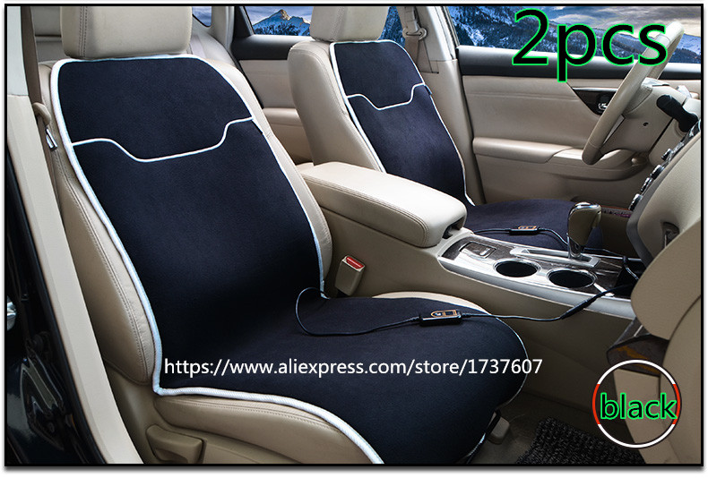 High Quality Car Seat Warmer Seat Cushion for Cold Days Heated Seat Cushion Cover Auto 12V Heating Heater Warmer Pad Winter